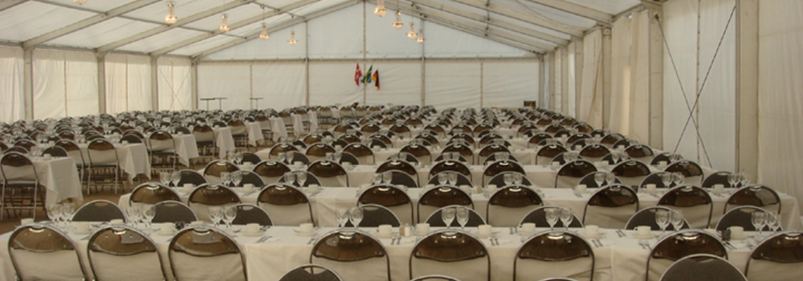 Vi hjälper er med evenemang av alla storlekar!